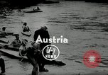 Image of canoeists and kayakers Austria, 1954, second 2 stock footage video 65675069476