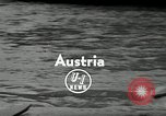 Image of canoeists and kayakers Austria, 1954, second 3 stock footage video 65675069476