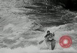 Image of canoeists and kayakers Austria, 1954, second 12 stock footage video 65675069476