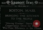 Image of food conservation Boston Massachusetts USA, 1918, second 1 stock footage video 65675069478