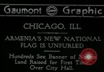 Image of United States flag Chicago Illinois USA, 1918, second 1 stock footage video 65675069482