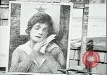 Image of artist paints posters Chicago Illinois USA, 1918, second 3 stock footage video 65675069483
