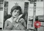 Image of artist paints posters Chicago Illinois USA, 1918, second 6 stock footage video 65675069483