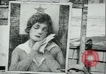 Image of artist paints posters Chicago Illinois USA, 1918, second 8 stock footage video 65675069483
