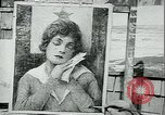 Image of artist paints posters Chicago Illinois USA, 1918, second 9 stock footage video 65675069483