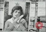 Image of artist paints posters Chicago Illinois USA, 1918, second 11 stock footage video 65675069483