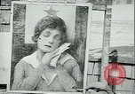 Image of artist paints posters Chicago Illinois USA, 1918, second 12 stock footage video 65675069483