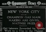 Image of gas mask laborers rewarded New York United States USA, 1918, second 1 stock footage video 65675069485