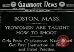 Image of Charleston Navy Yard girls Boston Massachusetts USA, 1918, second 1 stock footage video 65675069491