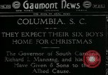Image of Richard Irvine Manning Columbia South Carolina USA, 1918, second 1 stock footage video 65675069492