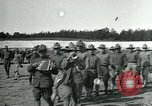Image of Army soldiers training in the U.S.A. United States USA, 1917, second 9 stock footage video 65675069494