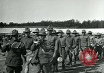Image of Army soldiers training in the U.S.A. United States USA, 1917, second 10 stock footage video 65675069494