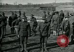 Image of British officer and soldier engage US troops in bayonet drill France, 1917, second 2 stock footage video 65675069496