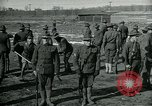 Image of British officer and soldier engage US troops in bayonet drill France, 1917, second 3 stock footage video 65675069496