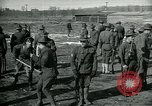 Image of British officer and soldier engage US troops in bayonet drill France, 1917, second 4 stock footage video 65675069496