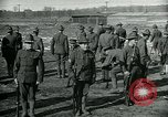 Image of British officer and soldier engage US troops in bayonet drill France, 1917, second 9 stock footage video 65675069496