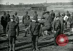 Image of British officer and soldier engage US troops in bayonet drill France, 1917, second 10 stock footage video 65675069496