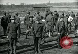 Image of British officer and soldier engage US troops in bayonet drill France, 1917, second 11 stock footage video 65675069496