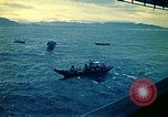 Image of Evacuees in small boats helped to board the USS Blue Ridge South China Sea, 1975, second 6 stock footage video 65675069510