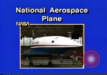 Image of National Aerospace Plane United States USA, 1989, second 2 stock footage video 65675069520