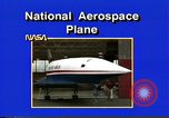 Image of National Aerospace Plane United States USA, 1989, second 4 stock footage video 65675069520