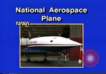 Image of National Aerospace Plane United States USA, 1989, second 5 stock footage video 65675069520