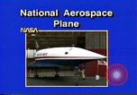 Image of National Aerospace Plane United States USA, 1989, second 6 stock footage video 65675069520