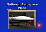 Image of National Aerospace Plane United States USA, 1989, second 8 stock footage video 65675069520
