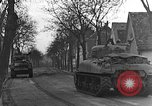 Image of M4 Sherman tanks Haguenau France, 1944, second 8 stock footage video 65675069535