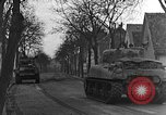 Image of M4 Sherman tanks Haguenau France, 1944, second 9 stock footage video 65675069535