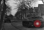 Image of M4 Sherman tanks Haguenau France, 1944, second 10 stock footage video 65675069535