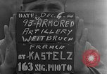 Image of 93rd Armored Artillery Battalion Weitbruch France, 1944, second 1 stock footage video 65675069536