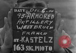 Image of 93rd Armored Artillery Battalion Weitbruch France, 1944, second 4 stock footage video 65675069536