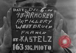 Image of 93rd Armored Artillery Battalion Weitbruch France, 1944, second 5 stock footage video 65675069536