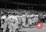 Image of Old Timers Day at Yankee Stadium New York United States USA, 1957, second 10 stock footage video 65675069541