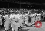 Image of Old Timers Day at Yankee Stadium New York United States USA, 1957, second 11 stock footage video 65675069541