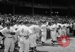 Image of Old Timers Day at Yankee Stadium New York United States USA, 1957, second 12 stock footage video 65675069541