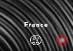 Image of Queen Frederica France, 1957, second 6 stock footage video 65675069545