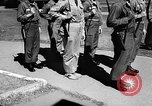 Image of soldier with very large feet San Francisco California USA, 1957, second 7 stock footage video 65675069548