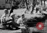 Image of Nation Trout Derby Livingston Montana USA, 1957, second 9 stock footage video 65675069550