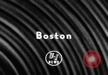 Image of New York Yankees vs Boston Red Sox Boston Massachusetts USA, 1957, second 3 stock footage video 65675069551