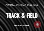 Image of NCAA track and field events Austin Texas USA, 1957, second 2 stock footage video 65675069554