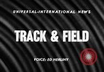 Image of NCAA track and field events Austin Texas USA, 1957, second 3 stock footage video 65675069554