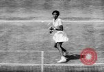 Image of Althea Gibson wins at Wimbleton United Kingdom, 1957, second 4 stock footage video 65675069555