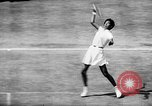 Image of Althea Gibson wins at Wimbledon United Kingdom, 1957, second 8 stock footage video 65675069555