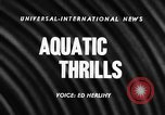 Image of Women divers compete at AAU meet in Houston, Texas Houston Texas USA, 1957, second 2 stock footage video 65675069557