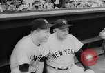 Image of Mickey Mantle and Ted Williams compete for batting title New York City USA, 1957, second 8 stock footage video 65675069559