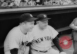 Image of Mickey Mantle and Ted Williams compete for batting title New York City USA, 1957, second 9 stock footage video 65675069559
