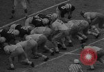 Image of Notre Dame upsets Oklahoma in 7-0 football victory Norman Oklahoma USA, 1957, second 11 stock footage video 65675069560