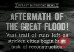 Image of reconstruction after floods Hartford Connecticut USA, 1937, second 2 stock footage video 65675069584